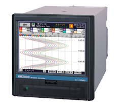 ペーパーレスレコーダー KR2S00シリーズ