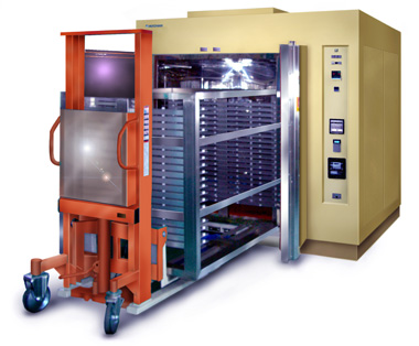 大型熱処理炉