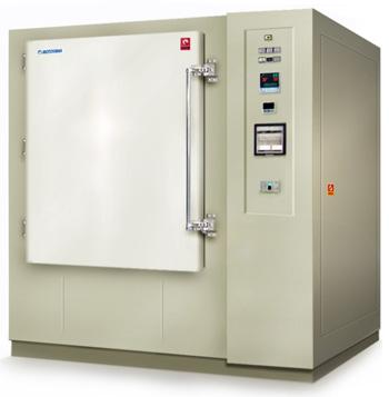 定量換気熱処理炉 強制排気式熱処理炉
