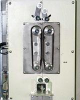 ガラス溶解炉 ガラス引取り・引上げ装置