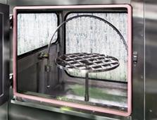 防水試験装置 散水試験